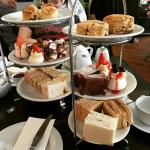 Afternoon tea (gluten free and 'normal')