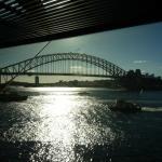 Harbour Bridge over Port Jackson from Sydney Opera House