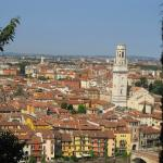 View of Verona from the hill