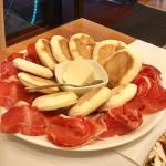 Food at La Via Emelia