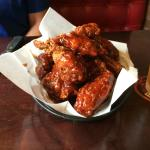 Sweet BBQ wings