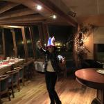 Celebrando copa américa en Hotel