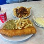 """PABLO'S SPECIAL"" Beautiful! Cheap! Perfect amount of food (For me). Girlfriends chips and gravy"