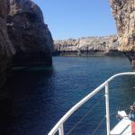 Fantastic voyage from Kalathos to St. Paul's bay then down to Haraki Beach