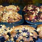 Delicious muffins made daily