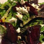 Warm Chevre & Beet Salad