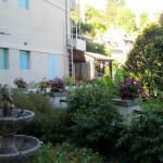 Jardin vue d'une chambre