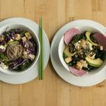 Lunch | Wasabi Soba Noodle + Buddha Bowl
