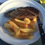 ribeye and chips
