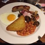 Premier Inn breakfast - great selection & all you can eat