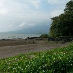 The grounds of San Juan de la Isla - Lake Nicaragua