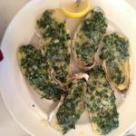 Baked Oyster Special.... yum