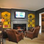 Cozy Pub Fireplace