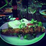 Brochette curry excellent !