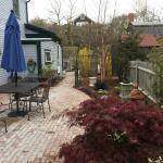 Freshly Landscaped Patio Garden