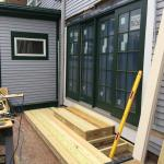 New French Doors to Patio From Existing Dining Room