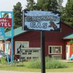 The Sears Motel, Grizzly Gas and Gift Shop!  A Budget Gem in East Glacier