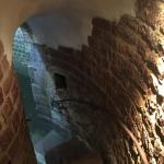Mittelalterlicher Judenhof Foto