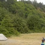 Campsite (not beach front)