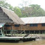 Clinic serving a large area of Amazonia and run by a physician from Wisconsin