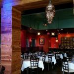 Inside view of restaurant 1