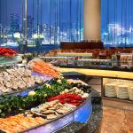 Dinner buffet at The Promenade