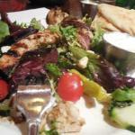 Chicken Souvlaki Salad
