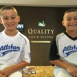 All-Stars enjoyed their awesome stay at Quality Inn
