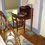 Joe's Room/Room 8: The lovely writing desk in the room.