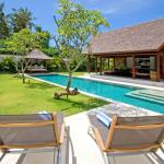 Villa Yudhistira - swimming pool view