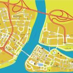 Map of Willemstad (Poppy Hostel is on the extreme left)