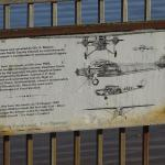 """Plaque commemorating the Australian aircraft """"Southern Cross"""""""