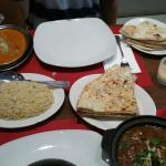 lamb nihari and lamb makhani