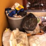 Trash always overflowing