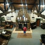 The Great Room inside the original Lodge, you have to see it yourself....!