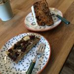 Happy slice and carrot cake :-)