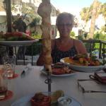 Yummy chicken kebab