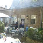 Außenbereich - Garten/Hof vor dem Restaurant