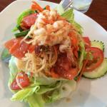 Papaya Salad with shrimp
