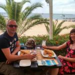 Our 20th wedding Anniversary Lunch