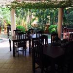Villa Langa breakfast Patio