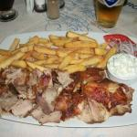A Gyros plate at Mike's