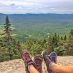 the view on top of the mont-megantic (hike)