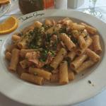 Rigatoni Al Salmone Affumicata
