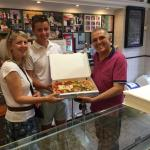 Thanks for the Pizza!! Best Pizza I have ever tasted... Honestly... Amazing!!!