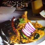 Zing & Zest Indian Restaurant.