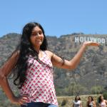 We were very closed to Hollywood sign....