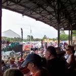 Food vendors in background - Prescott Rodeo