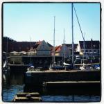 Hotel Siemsens Gaard seen from the harbour