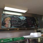 Normita's Tacos in Huntington Beach.  The fish tacos are fantastic!